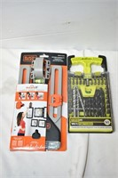 Picture Hanging Kit & T-Handle Drill Set
