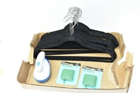 Clothes Hangers, Measuring Tapes, DeFuzzer
