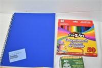 Crayons, Pencil Crayons, Pencils, etc.