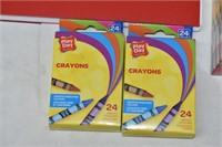 Sketch Pad, Crayons, Pencil Crayons, etc.