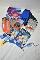 Gloves, Hook Kit, Sand Paper, etc.