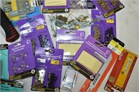 Box of  Assorted Small Hardware items
