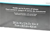(2) Tier Mesh Shoe Rack (opened box)