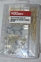 Plastic Tool Box, & (2) Hook Set