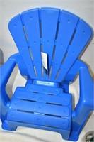 (2) Plastic Kids Chairs