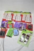 Tray of Felt Pads, Door Stoppers & Hardware