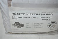 Sunbeam Heated Mattress Pad Size Queen