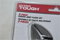 Hyper Tough 2-Piece Groove Joint Plier Set