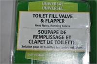 Toilet Fill  Valve & Flusher