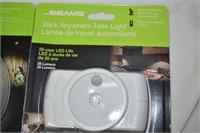 Stick Anywhere LED Task Light, LED Ceiling Light