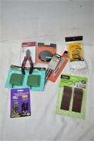 Pliers, Screwdriving Set, Door Stoppers, etc.