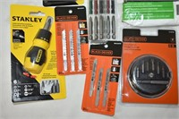 Screwdriver Bits, Measuring Tapes, Jig Saw Blades