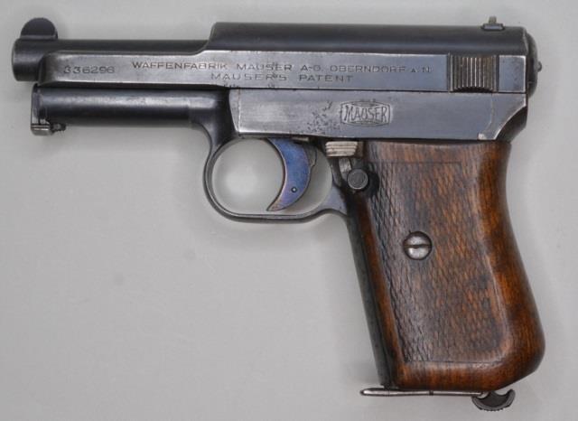 Mauser M1914 7 65mm Semi-Automatic Pistol | Kraft Auction