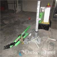 (2) Pole Hoists as Photographed