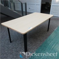 "Rectangular Table, approximate 36"" X 72"" as phot"