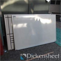 """(2) White Boards, approximate 72"""" X 42"""""""