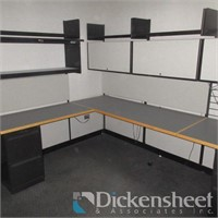 Modular Office Furniture as Photographed