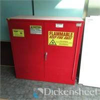 Eagle 1930 Flammable Double Door Storage Cabinet,