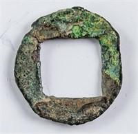 190 China Eastern Han Dong Zhuo Bronze H 10.31