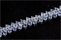 10ct Tanzanite Bracelet CRV $1200