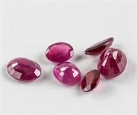 1.5ct Genuine Loose Rubies