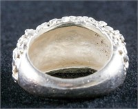 Antique Sterling Silver Ring Size 7