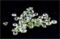 4.0ct Genuine Peridot Loose Gems