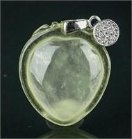 Burma Icy Green Jadeite Pendant