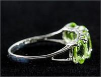 2.60ct Peridot Ring CRV $1300