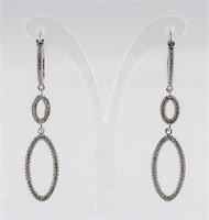 0.75ct Diamond Earrings CRV $700