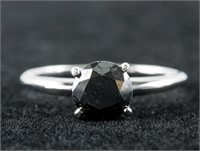 1.60ct Black Diamond Ring CRV $2100