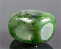 Two Natural Rough Tumbled  Polar Jade Boulders