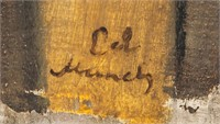 Norwegian Expressionist OOB Signed Ed Munch