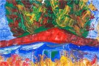 Polish Oil on Canvas Signed Szancenbach