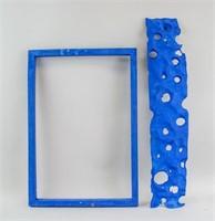 French Nouveau Realisme Mixed Signed Yves Klein