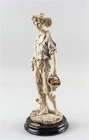 "Giuseppe Armani Italy 12"" Figurines ""Country Boy"""