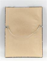 Cubo-Futurism Gouache on Paper Signed Olga Rozanov