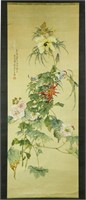 Tang Xinyu Republic Chinese Watercolor Scroll