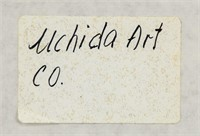 Ando Hiroshige Japanese Woodblock Print Uchida Co
