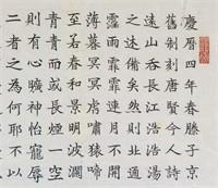 Li Yuhai b.1947 Chinese Ink Calligraphy on Paper
