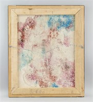 American Abstract OOC Signed Frankenthaler