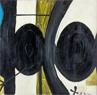 American Abstract OOC Signed Robert Motherwell