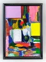 German-American Abstract OOC Signed Hans Hofmann