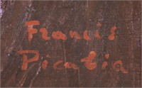 French Surrealist OOC Signed Francis Picabia