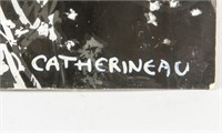 French Photogram Collage Signed Catherineau