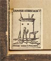 Carlo Canevari Italian 1922-1997 Oil on Board