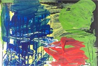US Abstract Expressionist OOC Signed Joan Mitchell