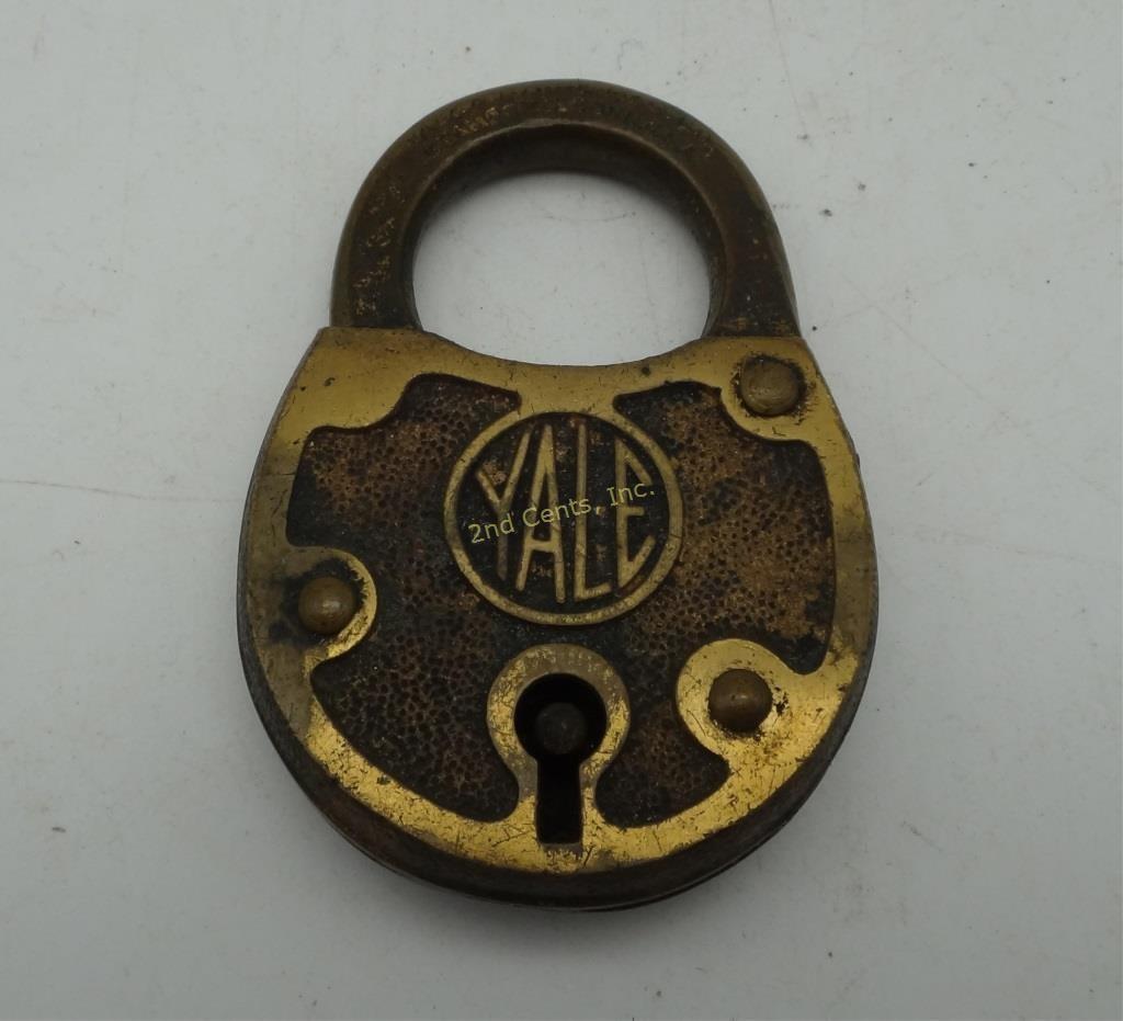 Vintage Yale Towne Br Lock Padlock