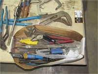 Assorted Tools, Tool Bag and Brushes-