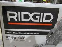 """Ridgid 10"""" Dual Bevel Miter Saw-"""